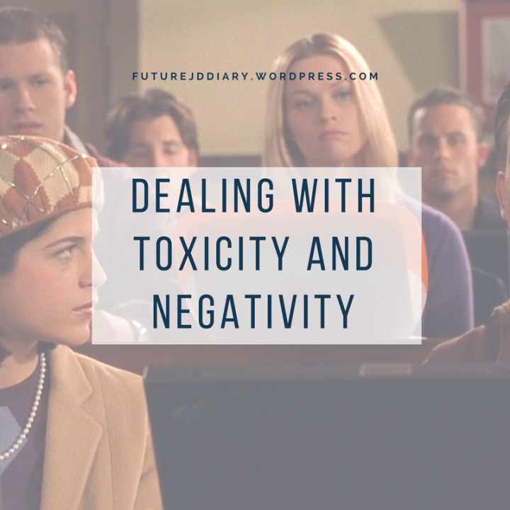 Dealing with Toxicity and Negativity in Law School